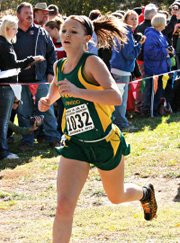 Bobcat junior Quinnlyn Walcott finished 34th in her return to state.