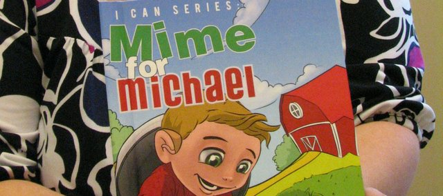 """Mime for Michael"" is a children's book written by Basehor's Nicole Svinson."