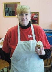 Tina Marie Myers has lived in Shawnee since 1988. Ask about her pumpkin cupcakes.