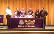 Amber McCown will continue her softball career at Southwestern College in Winfield.
