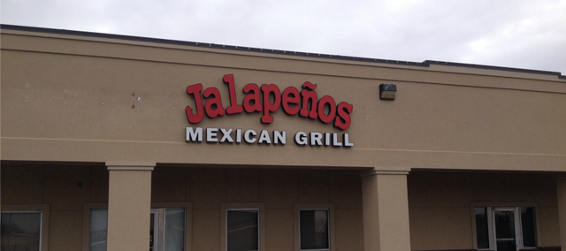 Jalapeños Mexican Grill located in the Basehor Town Square.