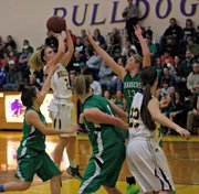 Meghan Jackson had a team-high 11 points against JCN.