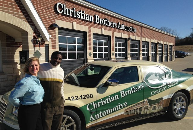 Scott and Tammie Green own and operate Christian Brothers Automotive in Shawnee.
