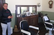 A barbershop is also now a part of the Shawnee Town 1929 experience.