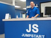 Chad Derowitsch stands in the newly remodeled Jump Start Fitness located in the Basehor Town Square.