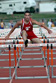 Ben Johnson was a state qualifier in the high jump and 110-meter hurdles last season.