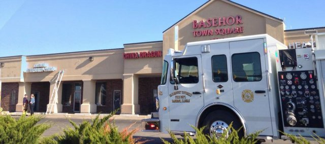 The Fairmount Township Fire Department and Basehor Police Department responded to a gas leak Tuesday morning at the Basehor Town Square. A leaking gas stove was found at Jalapeños Mexican Grill.