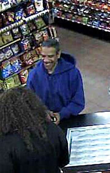 Shawnee Police have released this photo a suspect in the May 2 robbery of the TempStop convenience store.