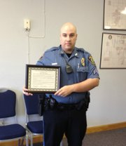 Sergeant Dave Duvall of the Basehor Police Department.