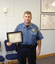 Lt. Robert Pierce of the Basehor Police Department.
