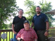 (From left to right) David, Earl and TC Bryant are celebrating 50 years of their family owned business Earl Bryant Heating and Cooling in Basehor.