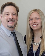 Dr. Wes Crenshaw and Kyra Haas
