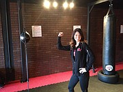 Angela Ferber, owner of 9 Round Fitness in Mission and Kearney, Mo., plans to open a third location in Shawnee at the Shawnee Parkway Plaza in February.