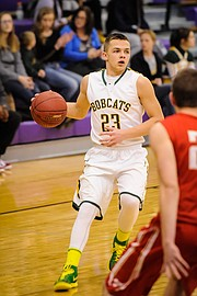 Basehor-Linwood guard Brock Gilliam