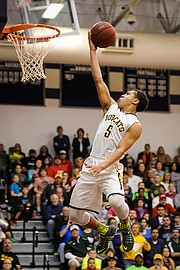 Basehor-Linwood guard Jahron McPherson