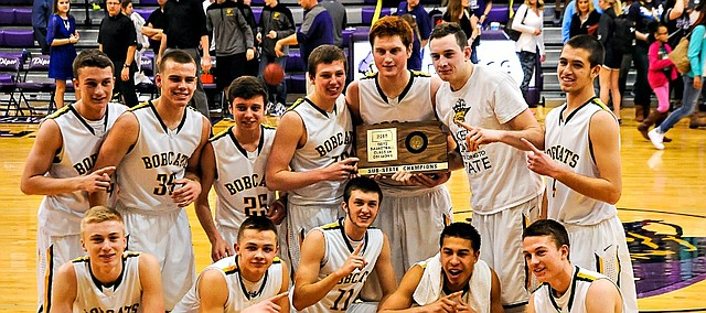 Basehor-Linwood won a sub-state title by beating Piper on Saturday.