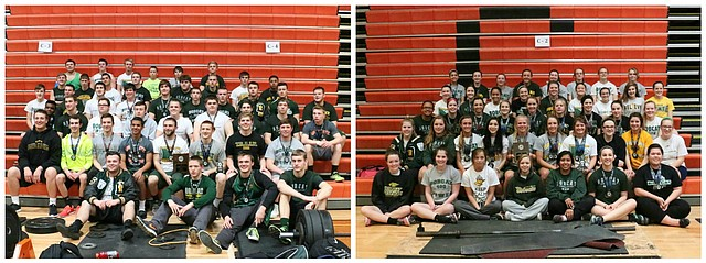 The Basehor-Linwood powerlifting program captured boys and girls state titles over the weekend.