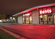 Arrow Rents, located at 11300 Shawnee Mission Parkway.