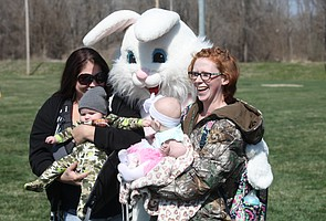 2015 Tonganoxie Recreation Commission Easter egg hunt