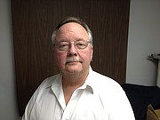 Bill Peak, candidate for Tonganoxie Mayor. Peak currently is a Tonganoxie City Council member.