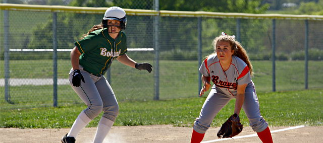 Basehor-Linwood defeated Bonner Springs 10-0 and 4-0 on Thursday evening at home.