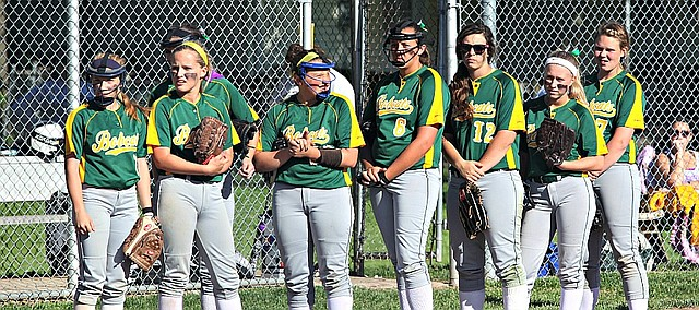 The Basehor-Linwood softball team defeated Bonner Springs 7-1 on Monday night in the Class 4A-I regional tournament.