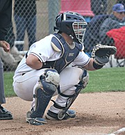 Mill Valley catcher Tyler Garrison