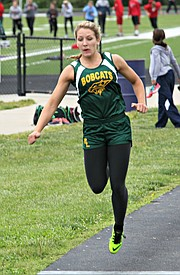 Basehor-Linwood's Sierra Smith qualified for state in four events.