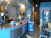 A look at the interior of Java Jive, 5428 Roberts St., which opened in June.