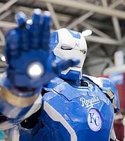 KC Iron Man will be among the guests at Kansas City Comic Con from Aug. 7-9 at Bartle Hall.