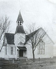 The Monticello United Methodist Church built in 1894, is celebrating 150 years in the historic Monticello Township area of western Shawnee.