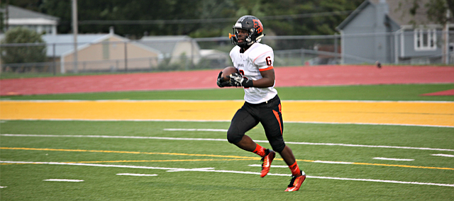 Bonner Springs running back Marcell Holmes ran for 219 yards on Friday against Basehor-Linwood.