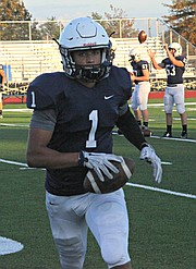 Christian Jegen ran for 170 yards and three touchdowns against Bonner Springs.