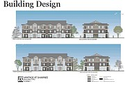 The preliminary plan for the Vantage at Shawnee apartments shows what some of the building would look like.