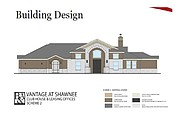 A look at the proposed clubhouse for the Vantage at Shawnee apartment complex.