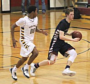 Zach Thornhill scored 36 points against SM West.