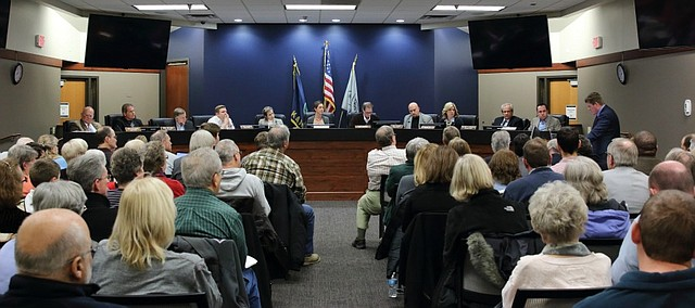 The Vantage at Shawnee saga at City Hall ended Monday night as the City Council failed to pass the proposal for the $35 million apartment project.