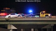One person was critically injured in a crash on northbound I-435 near Midland Drive on Saturday evening.