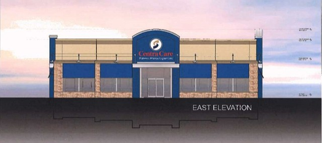 A Conceptual Drawing Of The New Centra Care Urgent Facility Proposed By Shawnee Mission Medical