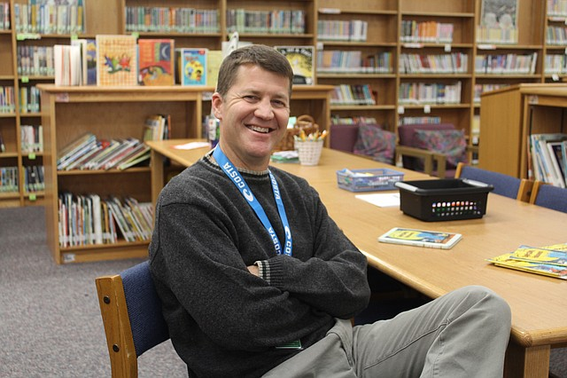Greg Seibold, an educational aide for Brookwood Elementary School, recently published two of his children's books.