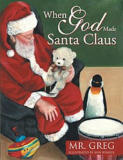 """When God Made Santa Claus,"" focuses on the correlation between Jesus and Old Saint Nick. Illustrations for the book were done by Ann Rymsza."