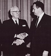 Harry S. Truman was one of several U.S. presidents Rainey met during his lifetime.