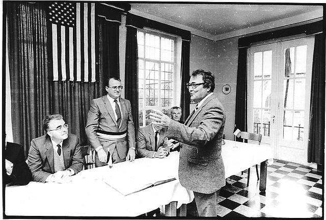 """Thomas """"Tony"""" Soetaert was mayor from 1978 to 1989."""