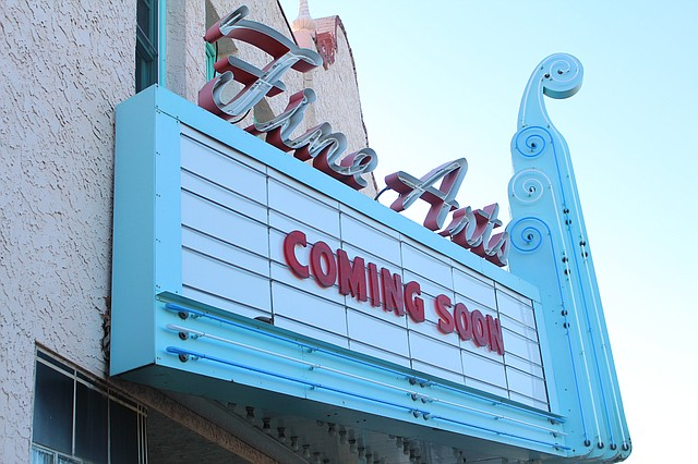 The historic Aztec Theater was built in 1927 and entertained movie audiences until the mid-1970s.