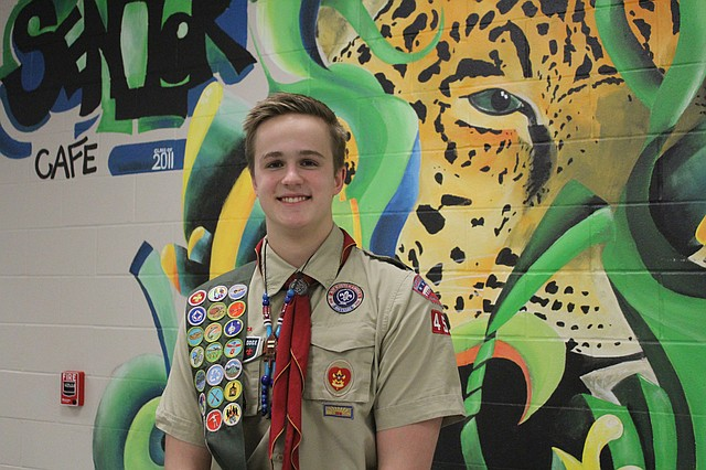 Mill Valley junior Brennan Schulte recently earned the rank of Eagle Scout.