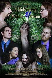 """william Shakespeare's A Midsummer Night's Dream"" is a film made by Shawnee couple Patrick Poe and Lolo Loren. It will be featured in the Kansas City Film Festival on Friday night."