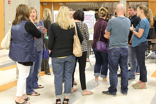 At a public meeting last week, parents had a chance to sound off on proposed boundary changes that will affect several Shawnee elementary schools in the Shawnee Mission School District.