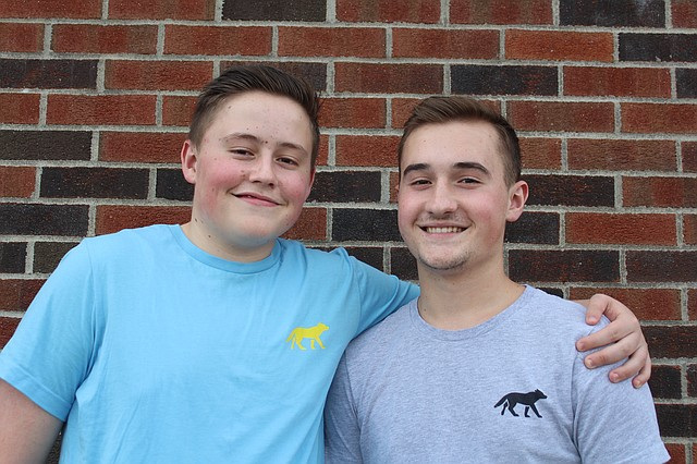 McCalister and Harrison Hall, of Shawnee, recently launched a preppy clothing company online.