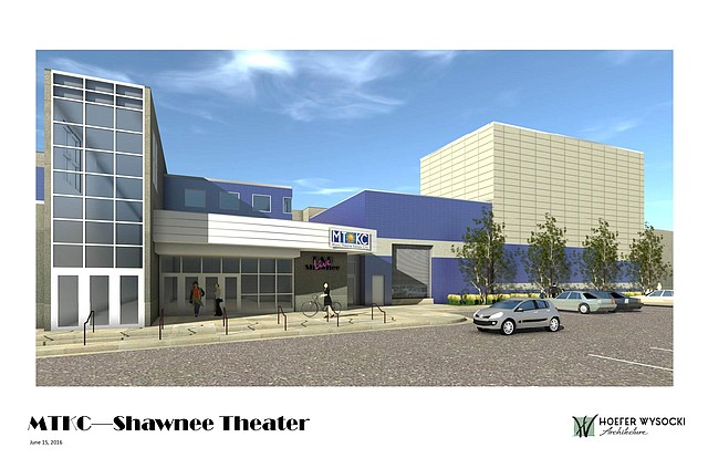 This illustration reveals what the new B&B Live theater will look like when fully completed.