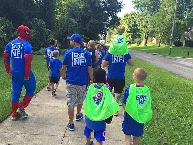 For the past three years, funds from the Kansas City NF walk has benefited he Children's Tumor Foundation, an organization which drives clinical trials and supports important research.